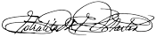 Estrlaita Martin signature