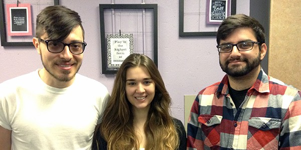 MARC scholars Carlos Nowotny, Alexis Romero and Babgen Manookian
