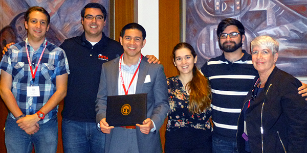 CASA Scholar Wins at the 2016 SDSU Student Research Symposium