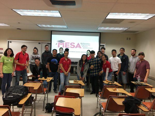MESA student cohort